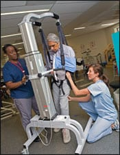 A Team Approach to Stroke Rehab
