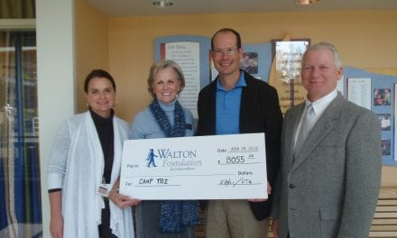 Walton Foundation TBI Camp Receives Support From Triathlete
