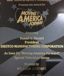 "DIESTCO's Dan Diestel Appears on TV's ""Moving Forward"""