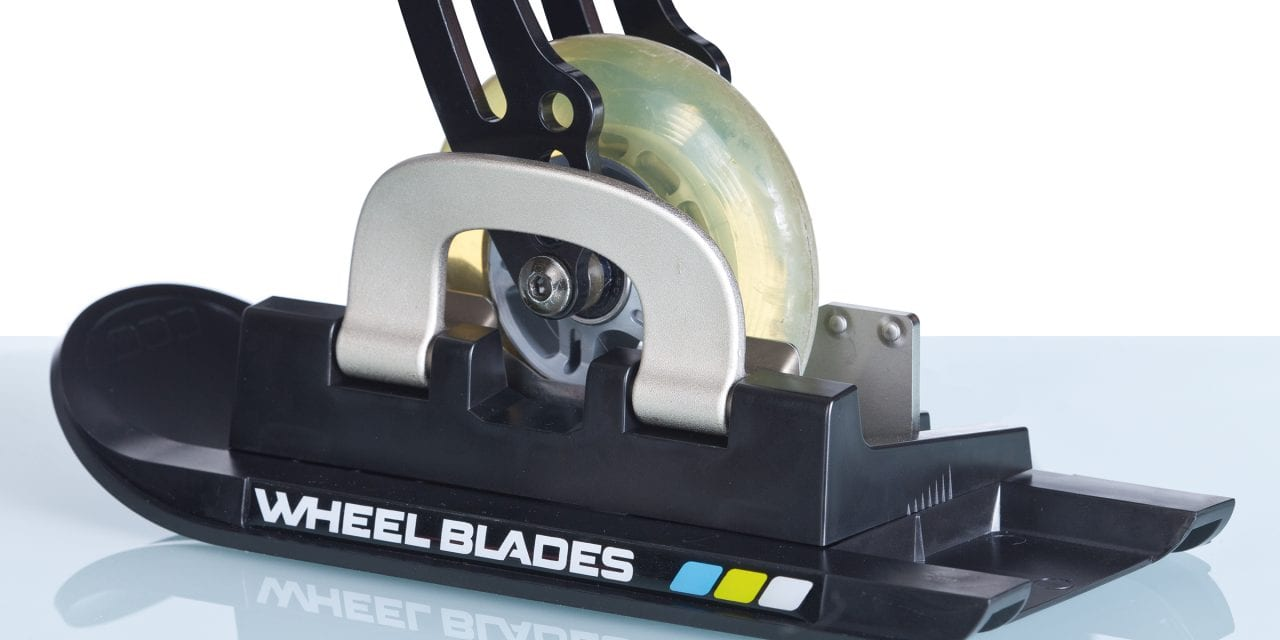 Wheelblades Aim to Smooth Wheelchair Users' Winter Travels