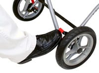 Foot-Operated Wheel Lock Promotes Ease of Use for Patients
