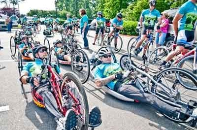 """Athletes with Physical Disabilities """"Cycle to the Sea"""" April 25"""