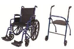 New Wheelchair and Two-Wheeled Walker Now Available from Carex