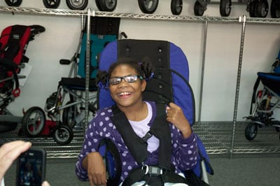 Convaid and UCPLA Mark NDDAM With Wheelchair Donation