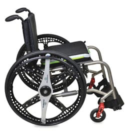Foldable Wheelchair Wheels Offer Users Ease of Travel and Storage