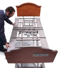 Sleep Deck Promotes Adjustability and Reduced Risk of Bed Entrapment