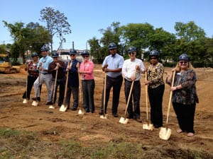 WCS Hosts Groundbreaking of Housing Complex for Individuals with Disabilities