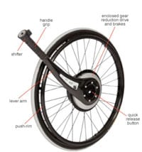 Wheelchair Lever and Brake System Offers Increased Mobility and Injury Reduction
