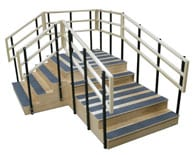 Bariatric Training Stairs Aim to Accommodate Pediatric and Adult Patients