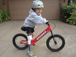 Online Resource Endorses Balance Bike for Pediatric Users