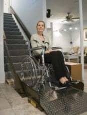 Wheelchair Lift Targets Eased Movement Between Multiple Floors