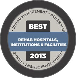 Best of 2013 Rehab Hospitals, Institutions & Facilities Online Now