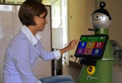 Robotic Companion for Older Adults Promotes Aging in Place
