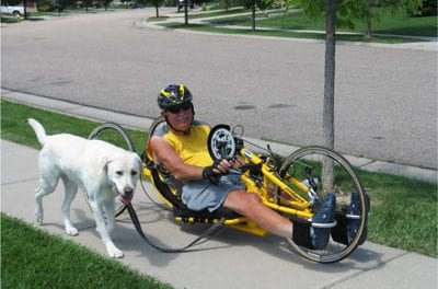 Dixon, Paraplegic Handcyclist To Raise Funds and Awareness During 4-Week Ride