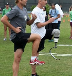 CAF and Össur Oct. 6 Amputee Running Clinic To Host Boston Survivors