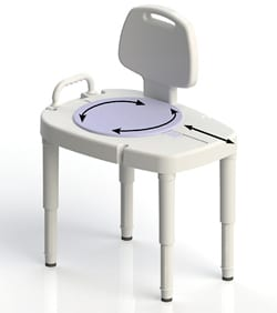 Transfer Bench Design Seeks Eased Transfer and Maneuverability for Users and Caregivers