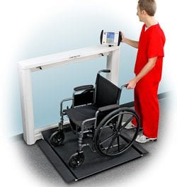 DETECTO Unveils New Wall-Mount Wheelchair Scale
