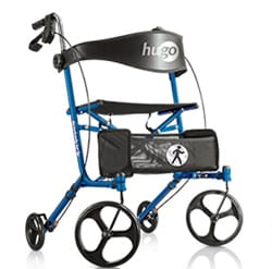 Side-Folding Rollator Promotes Portability and Convenience