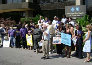 Health Insurers' Denials of Coverage Spark Protest