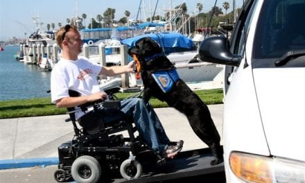 People With Disabilities Partner with Canine Helpers