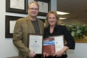 Researchers Win Award for Best Clinical Paper in Orthopedic Physical Therapy