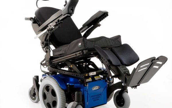 Multi-Power Option with 3.7 Recline Added to Quickie Pulse 6