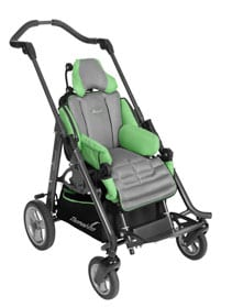 Pediatric Wheelchair Promotes Stability and Independent Function