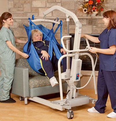 Bariatric Floor Lift Offers Weight Capacity of 700 Pounds