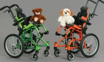 "Tilt-in-Space Wheelchair Aims to Provide a More Precise Fit for the ""Littlest"" Kids"