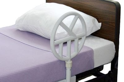 Halo Safety Ring Design Promotes Bed Mobility and Prevention of Lateral Mattress Movement