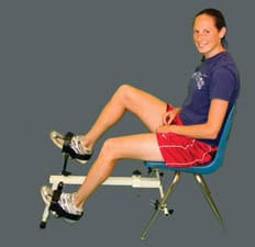 Chair Cycle Offers Alternative for Individuals Who Cannot Safely Use Stationary Bike