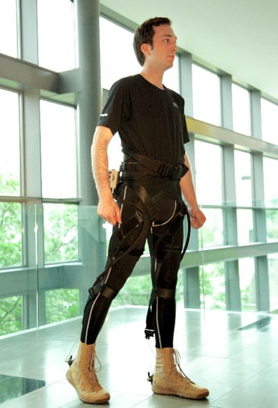 Exosuit in Development, Targets Musculoskeletal Injury Prevention for Tactical Athletes