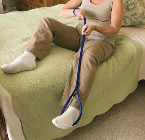 Leg Lifter Design Assists Patients with Limited Mobility