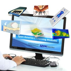 Span-America Online Training Series Includes Pressure Ulcer Intervention, Product Recommendations