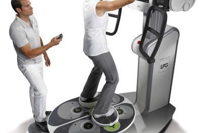 Huber Motion Lab Can Serve as Virtual Trainer or Diagnostic and Assessment Tool