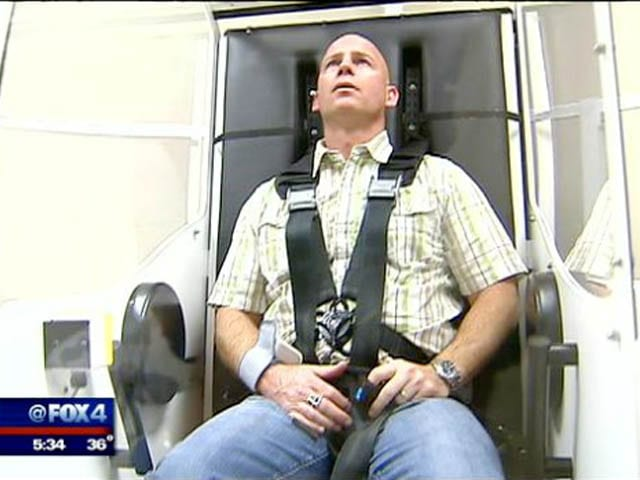 """Carrick TBI treatment goes """"unconventional"""" for injured vets"""