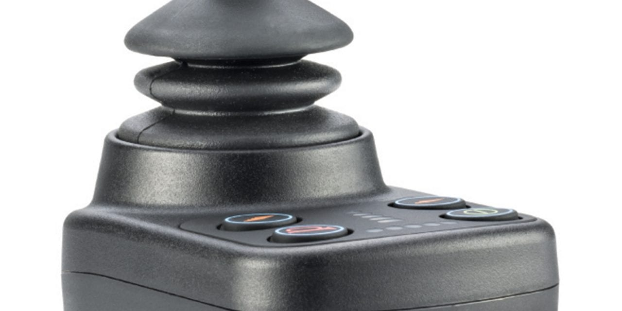 Wheelchair Control System Features a Drive-Only Joystick Module