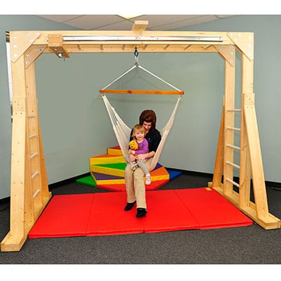 Indoor Therapy Gym Brings Outdoors Indoors for Children