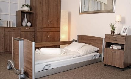 Ultra Low Bed Provides Safe Use and Reduces Work for Care Staff