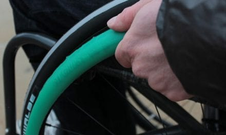 Fit Grips Aim to Improve Comfort and Performance for Manual Wheelchair Users