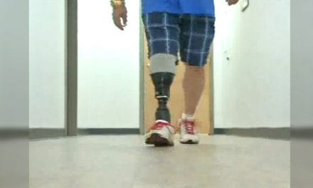 Microprocessor-Controlled Prosthetic Ankle-Foot Debuts in New York