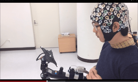 Brain-Computer Interface Designed to Help Control Lower-Limb Exoskeleton