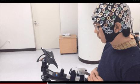 Brain-Computer Interface Designed to Help Control Lower-Limb Exoskeleton