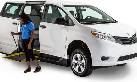 ADA-Compliant Minivan Built for Commercial Use Rolls Out at Vantage Mobility