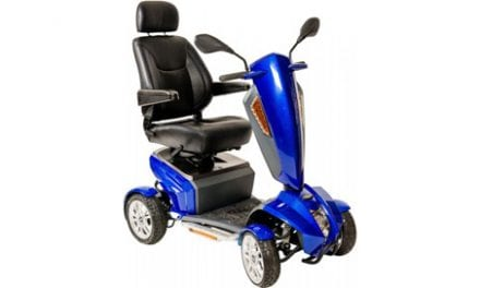 New Odyssey GT Full-Size Mobility Scooter Features a Captain's Seat