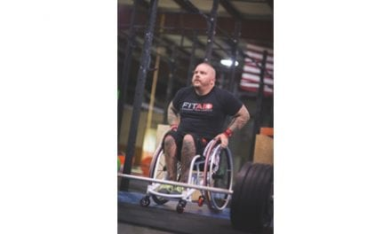 Adaptive Sports Athlete Receives Custom Wheelchair for Training and Fitness Competition