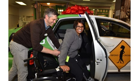 GEICO Donates Therapy Vehicle to MedStar NRH