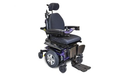 Crash-Tested and WC19-Compliant Power Seating Available from Quantum Rehab