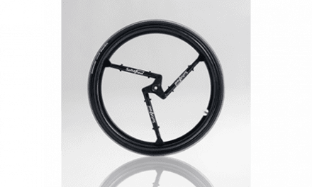 With SoftWheel, Wheelchair Suspension is Inside the Wheel Itself