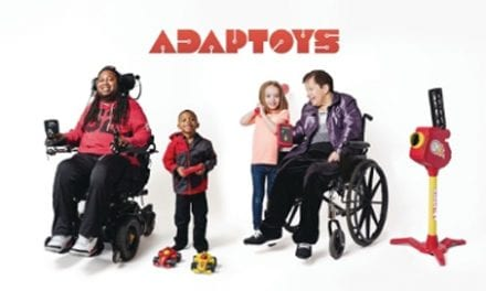 Adaptoys Bring Experience of Play for Those Living with Paralysis